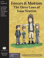 Play (Non-Musical): Forces & Motion: The Three Laws of Isaac Newton physical science resources for elementary school, physics play, forces and motion resources