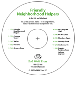 """Friendly Neighborhood Helpers"" Audio Recording"