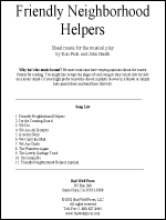 Sheet Music: Friendly Neighborhood Helpers - FRIE-MU