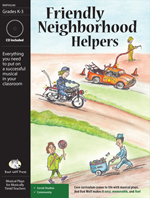 Musical Play: Friendly Neighborhood Helpers Community Helpers resource, Communitiy Helpers activity, Community Helpers resources for elementary school, Community skits, Community Helpers, Community Helpers readers theater