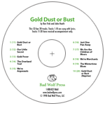 """Gold Dust or Bust"" Audio Recording"