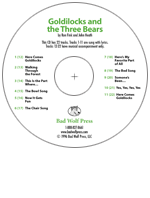 """Goldilocks and the Three Bears"" Audio Recording"