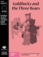 Musical Play: Goldilocks and the Three Bears language arts resource, language arts activity, folk tale resources for elementary school, folk tale skits, Goldilocks, folk tale reader's theater, language arts reader's theater