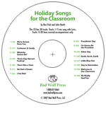 """Holiday Songs for the Classroom"" Audio Recording"