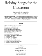 Sheet Music: Holiday Songs for the Classroom