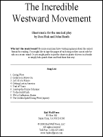 Sheet Music: Incredible Westward Movement - INCR-MU