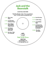 """Jack and the Beanstalk"" Audio Recording"