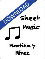 Sheet Music: Martina y Pérez (Digital Download) - MART-MU-DIG