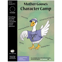 """Mother Goose's Character Camp"" Musical Play by Bad Wolf Press"