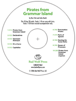 """Pirates from Grammar Island"" Audio Recording"