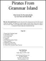 Sheet Music: Pirates from Grammar Island
