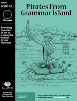 Musical Play: Pirates from Grammar Island grammar resources, grammar activities, grammar for kids, grammar musical, grammar play