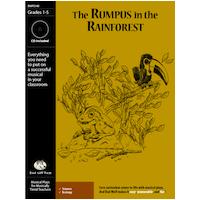 """The Rumpus in the Rainforest"" Musical Play by Bad Wolf Press"
