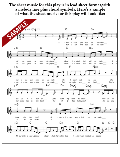 Sample Sheet Music - Lead Sheet