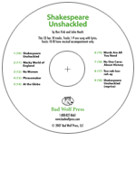 """Shakespeare Unshackled"" Audio Recording"