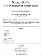 Sheet Music: Social Skills