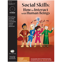 """Social Skills: How to Interact with Human Beings"" Musical Play by Bad Wolf Press"