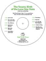 """The Texans: Birth of the Lone Star State"" Audio Recording"