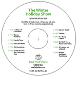 """The Winter Holiday Show: A Multi-Species Celebration"" Audio Recording"