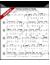 Sample Sheet Music - Piano/Guitar Score