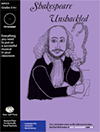 """Shakespeare Unshackled"" Musical Play by Bad Wolf Press"
