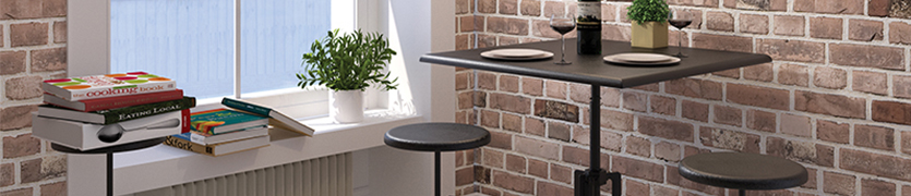 Multipurpose dining tables, cafe tables