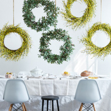 Spring Wreaths & Greenery