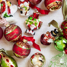 Christmas Baubles & Tree Decorations