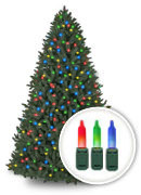 LED Multicolored<br>Pre-Lit Trees