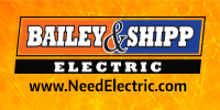 Website for Bailey & Shipp Electric