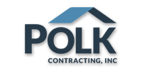 Website for Polk Contracting Inc.