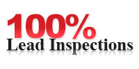 Website for 100% Lead Inspections LLC