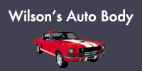 Website for Wilson's Auto Body and Fender Shop, Inc.