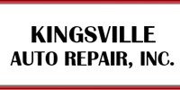 Website for Kingsville Auto Repair, Inc.