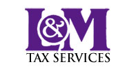 Website for L and M Tax Service Inc