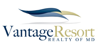 Website for Vantage Resort Realty of Maryland, LLC