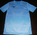 Blue diamond sublimation shirt