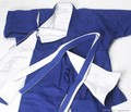 Competition judo uniform %28reversible blue white%29