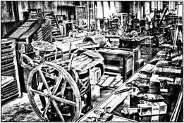 Printer's Shop by Tony Williams
