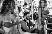 3  Backstage At Muscle Beach by Louis Kravitz