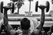 1  Backstage At Muscle Beach by Louis Kravitz