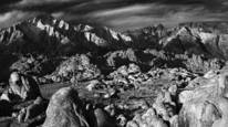 Alabama Hills and Mt. Whitney by Jim Shoemaker