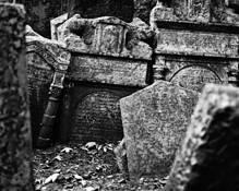 Old Jewish Cemetery 10 by Ilya Genin