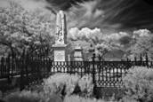 Infrared Cemetery No.1 by Tom and Mari Green