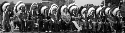 Indian Chiefs by Peggy Fontenot