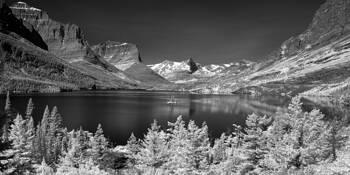 Glacier National Park by Imre Pozsgay
