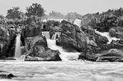 Great Falls From Fisherman's Eddy by Lee Goodwin