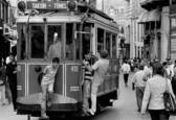 Tramcar by Sevki Umit Ozgen