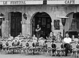 Le Festival Cafe by Evan Wolarsky