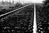 Railroad Tracks by Ronald Cooley